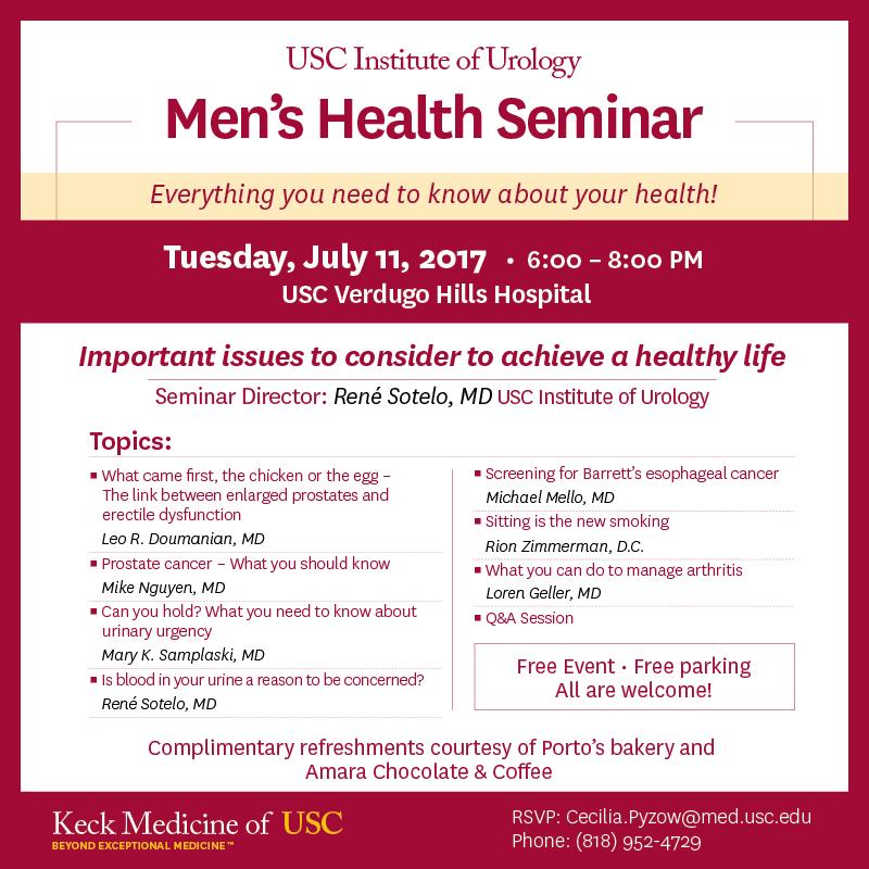 Men Health Seminar
